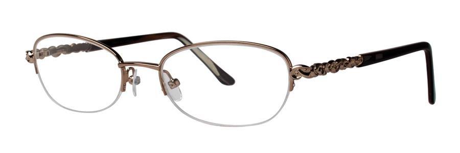 Dana Buchman KARLOTTE Brown Eyeglasses Size51-18-135.00