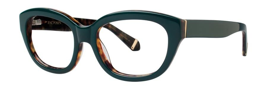 Zac Posen KATHARINE Green Eyeglasses Size52-18-135.00