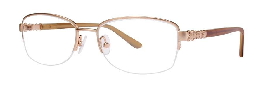 Dana Buchman KATRIEN Gold Eyeglasses Size48-17-130.00