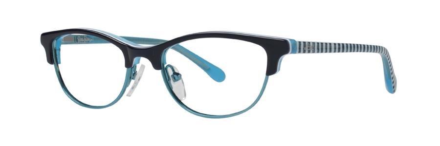 Lilly Pulitzer KIPPER Navy Eyeglasses Size47-16-125.00