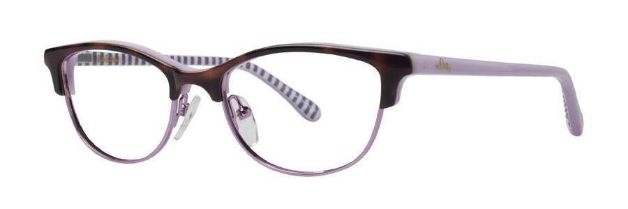 Lilly Pulitzer KIPPER Tortoise Eyeglasses Size47-16-125.00