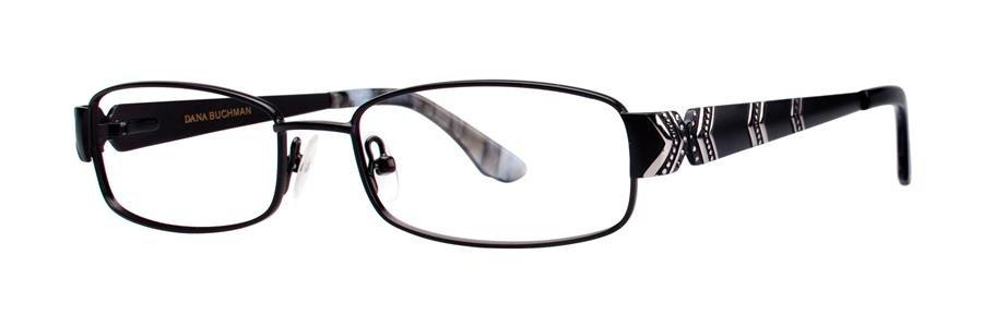 Dana Buchman KIRSTY Black Eyeglasses Size50-16-135.00