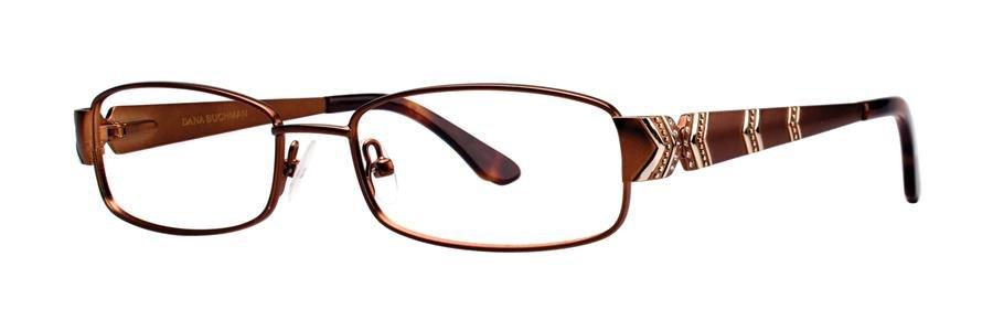 Dana Buchman KIRSTY Brown Eyeglasses Size50-16-135.00