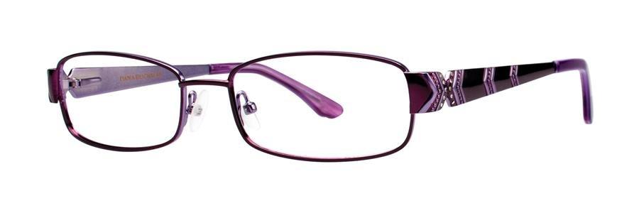 Dana Buchman KIRSTY Plum Eyeglasses Size50-16-135.00
