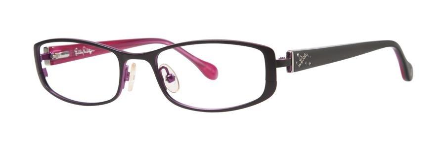 Lilly Pulitzer KRISSA Black Eyeglasses Size49-17-130.00