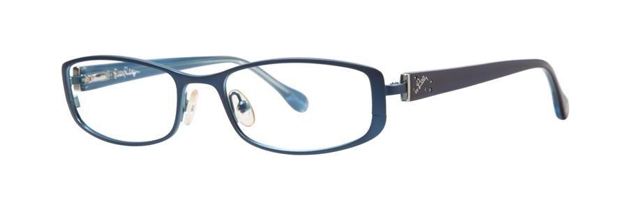Lilly Pulitzer KRISSA Navy Eyeglasses Size51-17-135.00