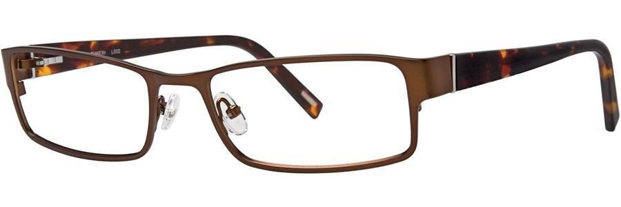 Timex L002 Brown Eyeglasses Size57-19-145.00