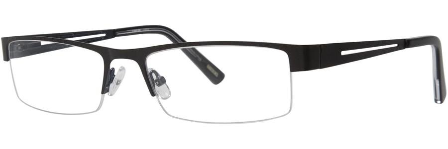 Timex L012 Black Eyeglasses Size56-18-137.00