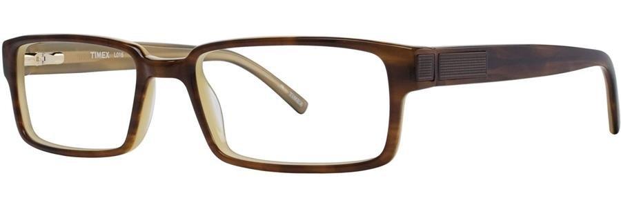 Timex L016 Brown Eyeglasses Size55-18-140.00