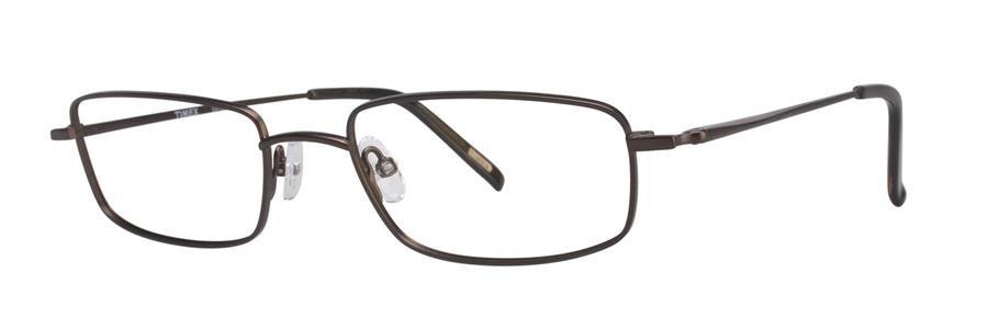 Timex L019 Brown Eyeglasses Size56-20-150.00