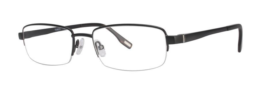 Timex L021 Black Satin Eyeglasses Size57-19-145.00