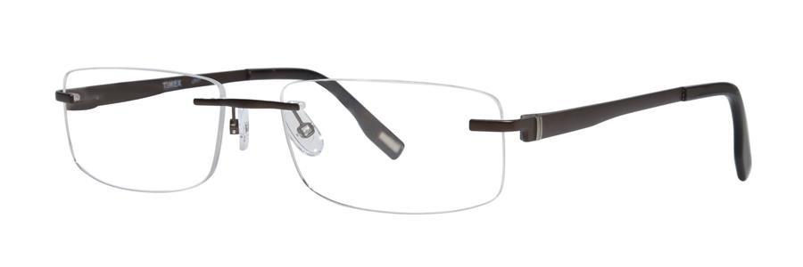 Timex L027 Brown Eyeglasses Size57-18-140.00