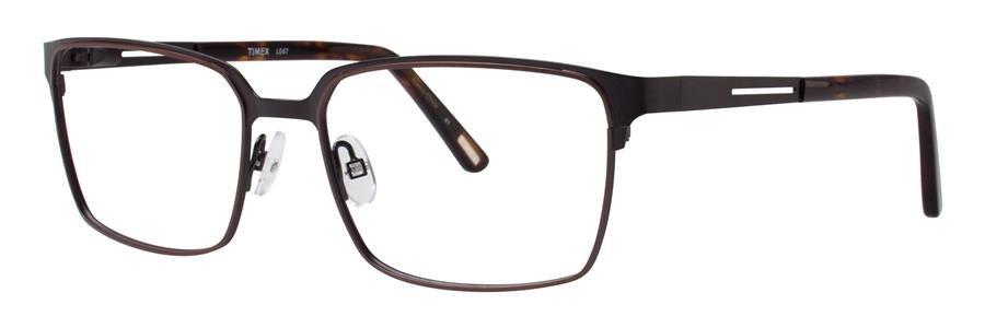 Timex L047 Black Eyeglasses Size55-17-145.00