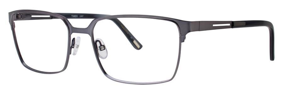 Timex L047 Gunmetal Eyeglasses Size57-17-150.00