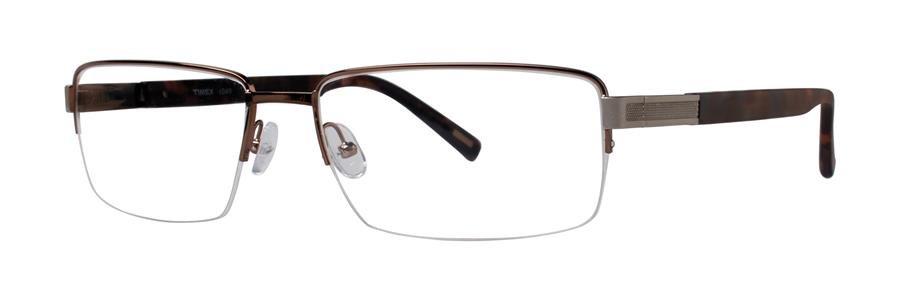 Timex L049 Brown Eyeglasses Size56-17-145.00