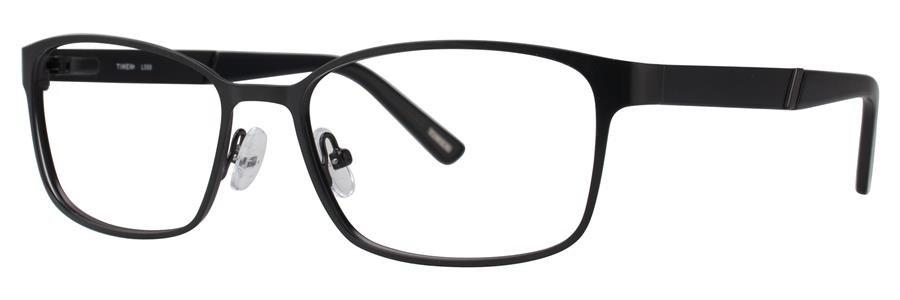 Timex L059 Black Eyeglasses Size58-17-145.00