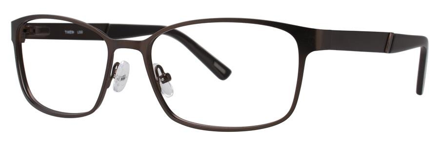Timex L059 Brown Eyeglasses Size58-17-145.00