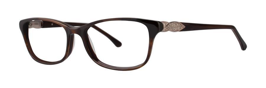Dana Buchman LAINE Brown Eyeglasses Size52-16-135.00