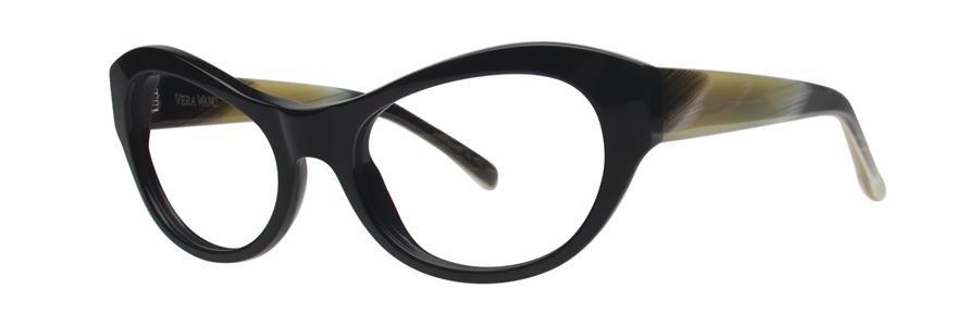 Vera Wang LARISA Black Eyeglasses Size52-17-135.00