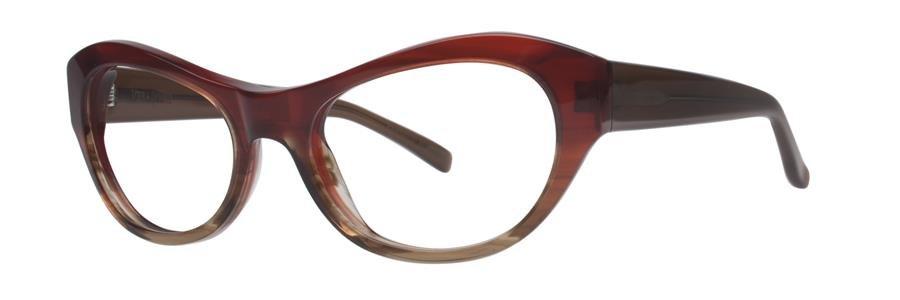 Vera Wang LARISA Burgundy Tort Eyeglasses Size52-17-135.00