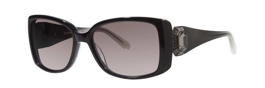 Vera Wang LEDA Black Sunglasses Size56-17-135.00