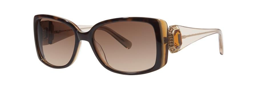 Vera Wang LEDA Honey Tortoise Sunglasses Size56-17-135.00