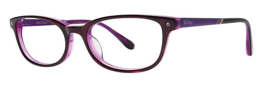 Lilly Pulitzer LEIGHTON Tortoise Eyeglasses Size49-17-135.00