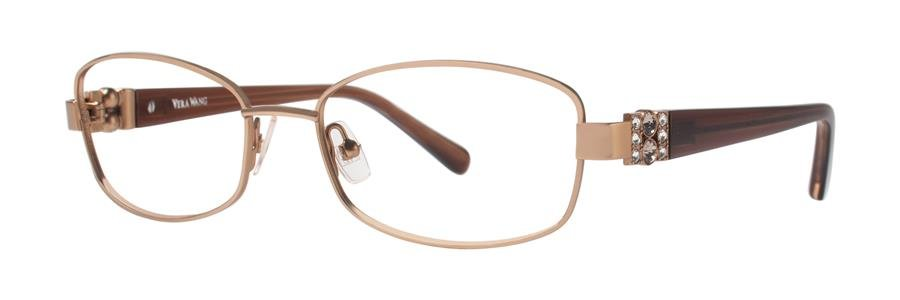 Vera Wang LEIRA Brown Eyeglasses Size51-16-130.00