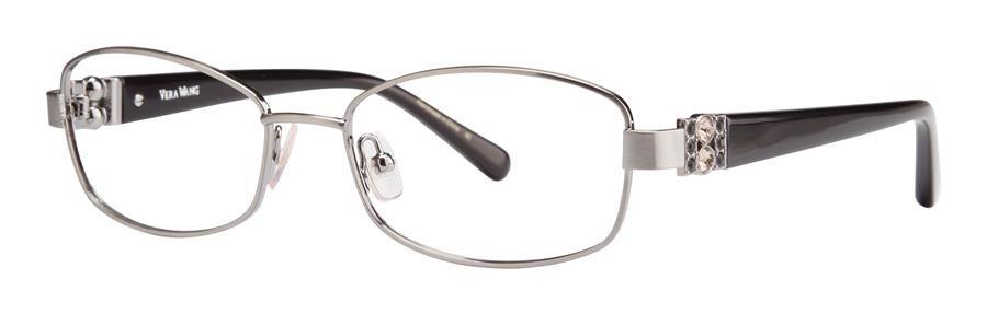 Vera Wang LEIRA Gunmetal Eyeglasses Size51-16-130.00