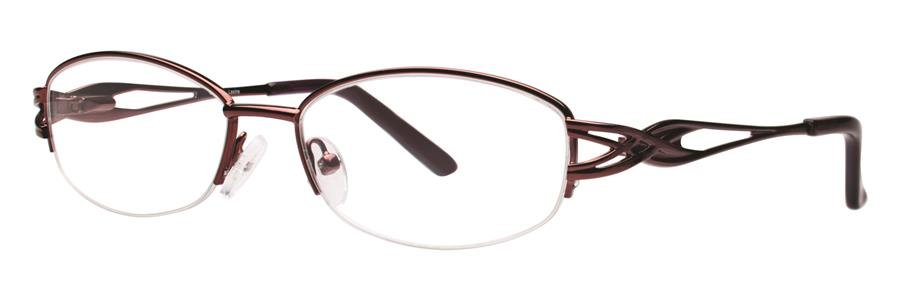 Destiny LEXINE Burgundy Eyeglasses Size53-16-135.00