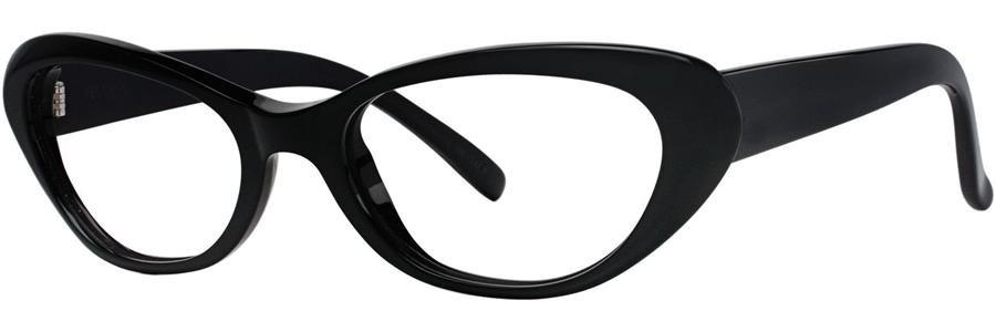 Vera Wang LINETTE Black Eyeglasses Size52--135.00