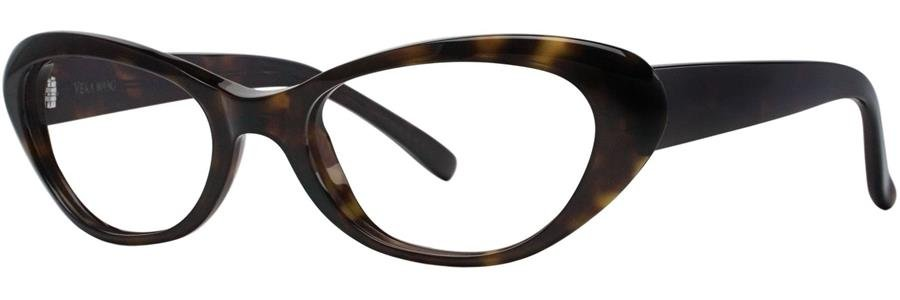 Vera Wang LINETTE Tortoise Eyeglasses Size52--135.00