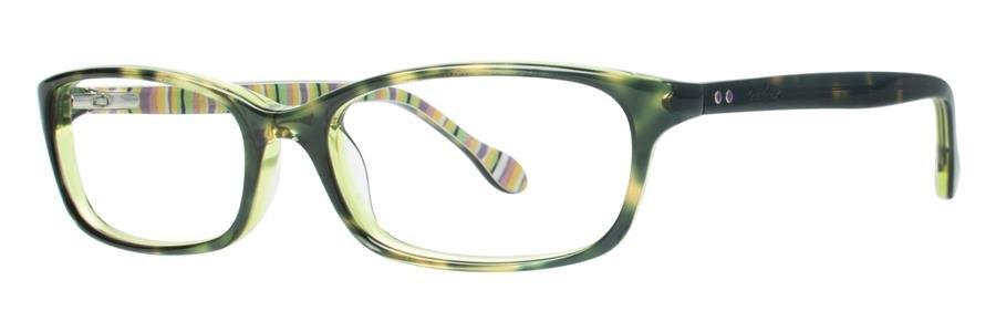 Lilly Pulitzer LINNEY Tortoise Green Eyeglasses Size52-16-135.00