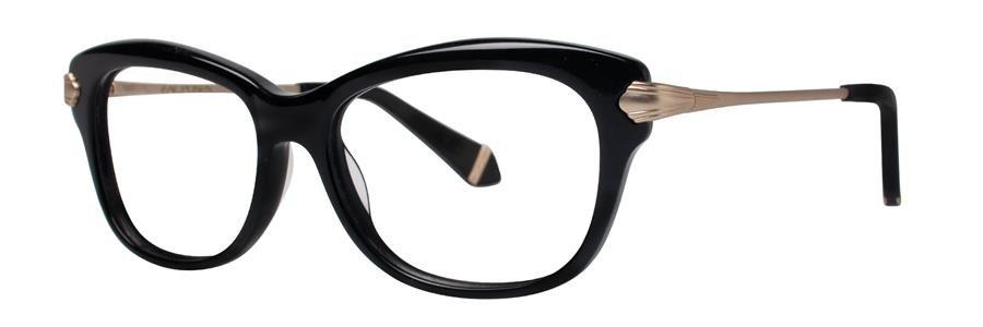 Zac Posen LISA Black Eyeglasses Size51-15-130.00