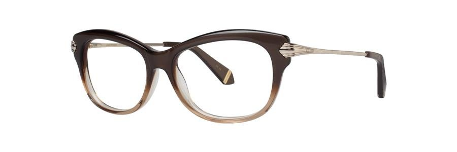 Zac Posen LISA Brown Eyeglasses Size53-15-135.00