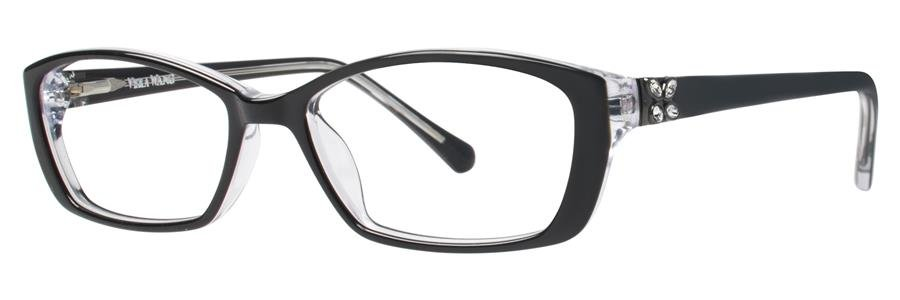Vera Wang LISSOME Black Eyeglasses Size51-16-135.00