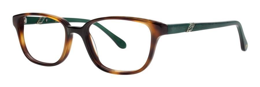 Lilly Pulitzer LOCKWOOD Tortoise Fern Eyeglasses Size50-17-135.00