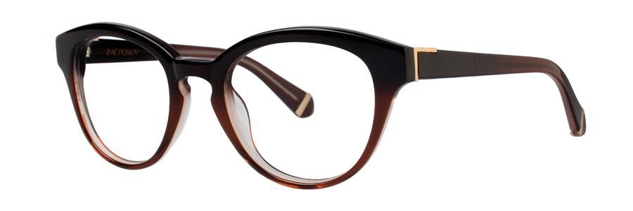 Zac Posen LOIS Brown Eyeglasses Size49-20-135.00