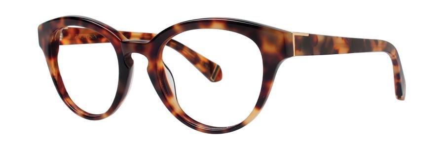 Zac Posen LOIS Tortoise Eyeglasses Size49-20-135.00