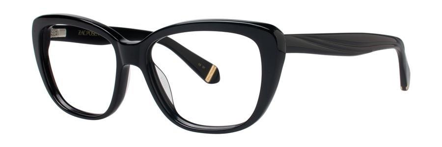 Zac Posen LORETTA Black Eyeglasses Size54-15-135.00