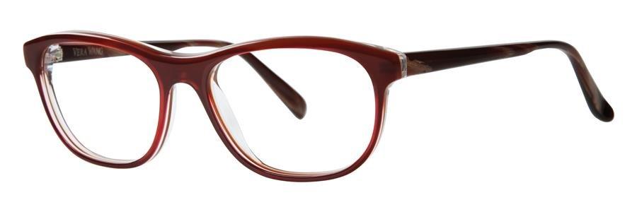 Vera Wang LULA Burgundy Eyeglasses Size52-15-135.00