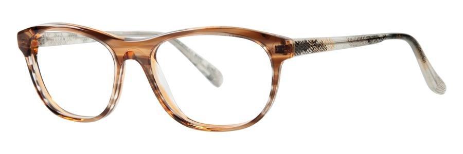 Vera Wang LULA Nude Horn Eyeglasses Size52-15-135.00