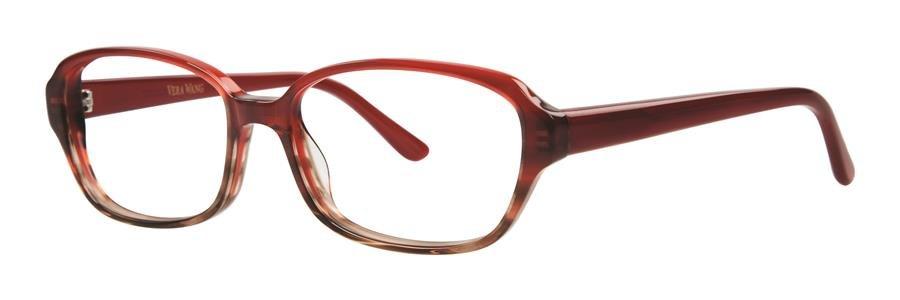 Vera Wang LUMILDA Burgundy Eyeglasses Size53-15-135.00