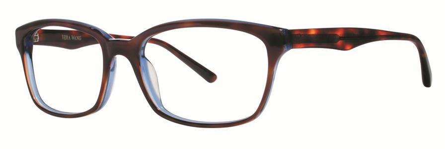 Vera Wang LUNA Midnight Tortoise Eyeglasses Size53-17-140.00