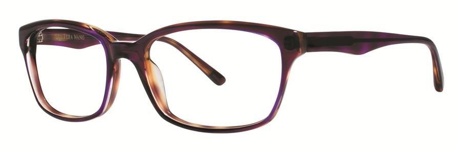 Vera Wang LUNA Plum Tortoise Eyeglasses Size53-17-140.00