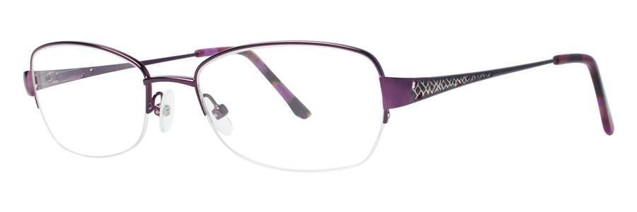 Dana Buchman LYDIA Violet Eyeglasses Size53-18-135.00