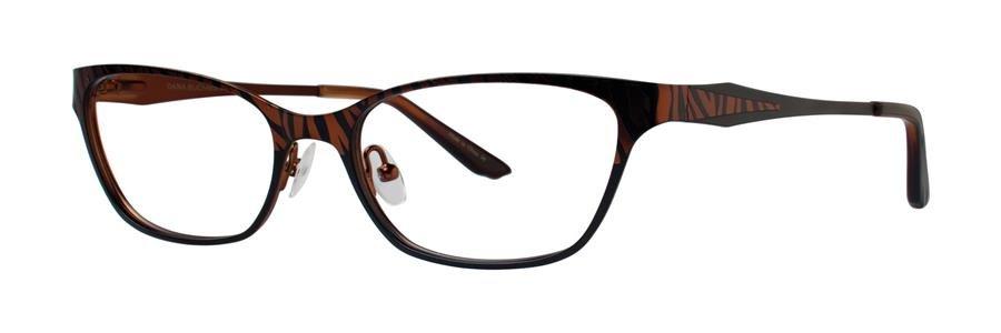 Dana Buchman LYNDON Brown Eyeglasses Size53-17-136.00