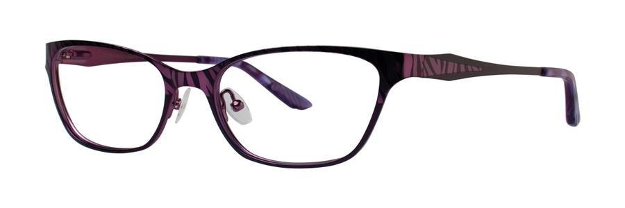 Dana Buchman LYNDON Plum Eyeglasses Size53-17-136.00