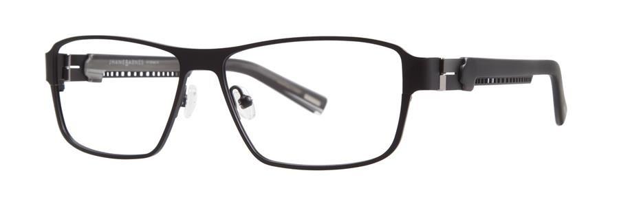 Jhane Barnes MACH Black Eyeglasses Size55-14-138.00