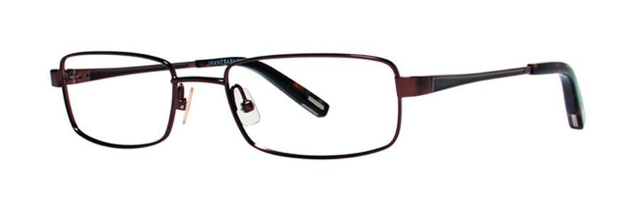 Jhane Barnes MACROS Brown Eyeglasses Size51-18-135.00